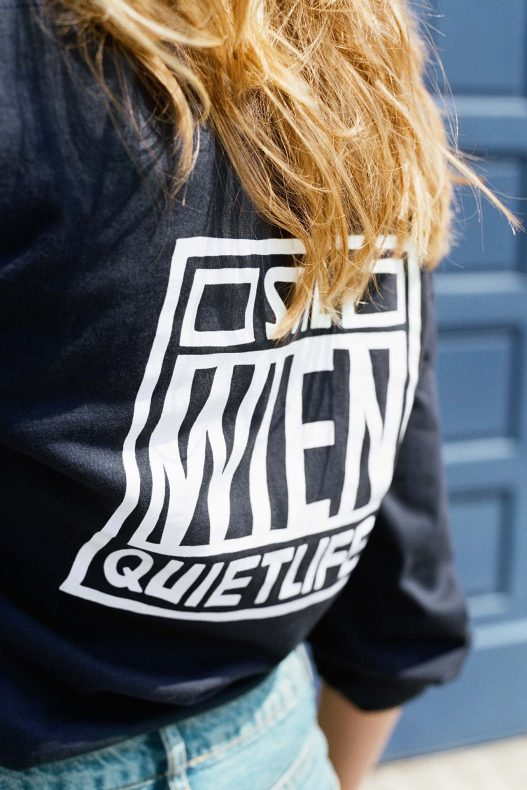 The Quiet Life Stil Laden schwarzes Sweatshirt
