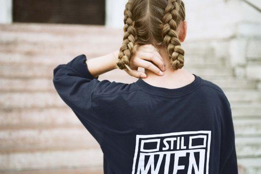 The Quiet Life Stil Laden schwarzes Sweatshirt Rückseite