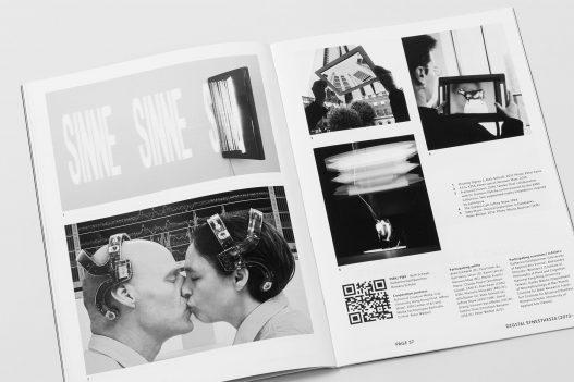 Doppelseite des Editorials zur Contemporary Code Ausstellung in Hongkong