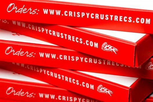 Crispy Crust Records Pizzaschachtel