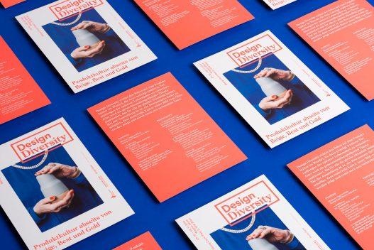 Design Diversity Flyer zur Ausstellung