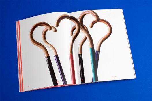 Bunte Gehstöcke im Design Diversity Magazin