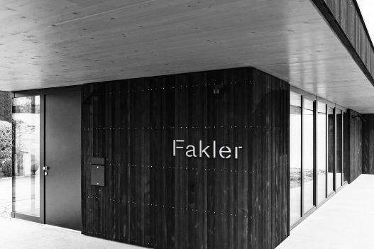 Fakler Architekturbüro Eingang