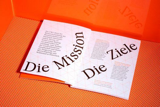 FWF Grundlage Forschung Bericht Mission und Ziele