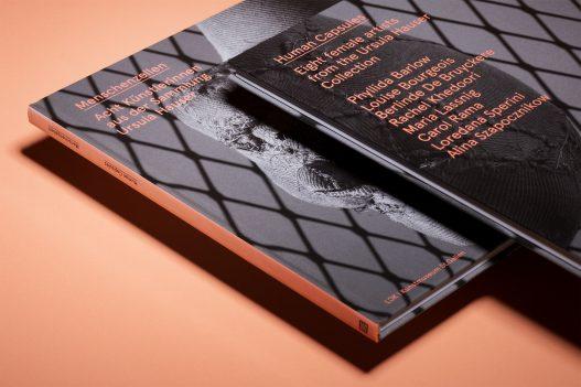 Menschenzellen Buch zur Ausstellung Cover Vorder- und Rückseite