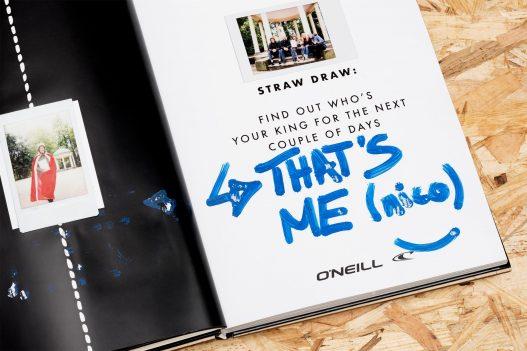 ONeill Straw Draw Detail aus dem Book of Challenges