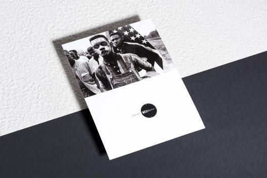 Fotokarte bei WestLicht Ausstellung