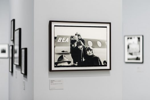 Bild der Beatles bei WestLicht Ausstellung