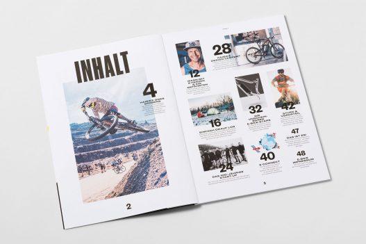 Haibike Zero Cadence Magazin Inhaltsverzeichnis