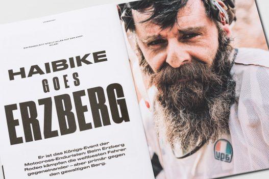 Biker beim Haibike Erzberg Rodeo