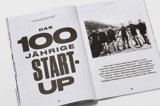 Haibikes Geschichte im Zero Cadence Magazin