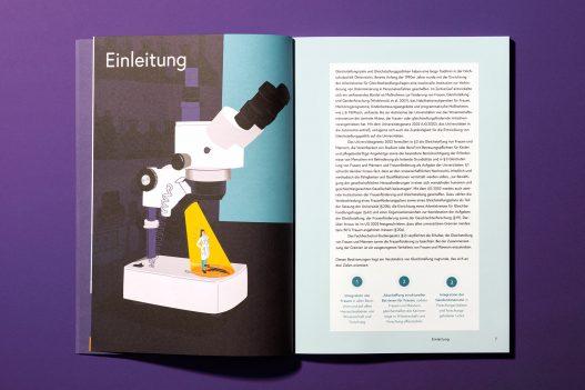IHS Studie Einleitung und Illustration eines Mikroskops