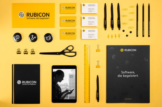 Rubicon Stationary in neuem Corporate Design