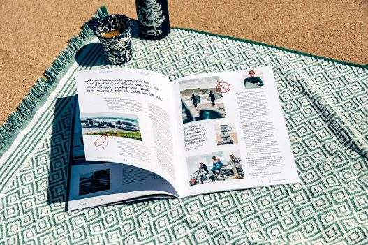 Sunlight Magazin Doppelseite
