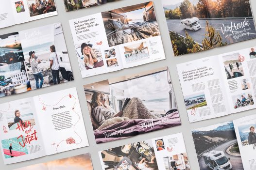 Sunlight Kundenmagazin Seitenspiegel