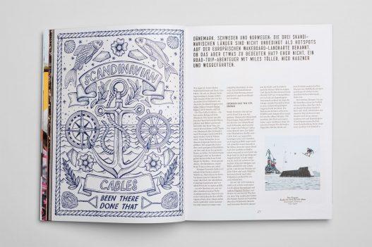Dänemark, Schweden und Norwegen im The Cable Magazin