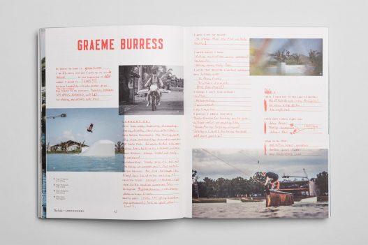 Grame Burress im The Cable Magazin