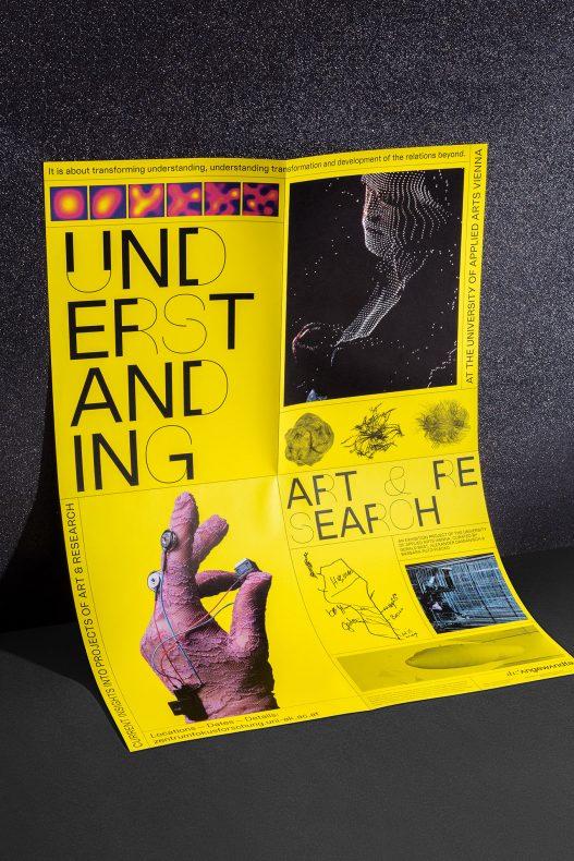 Understanding Art & Research Poster zur Ausstellung