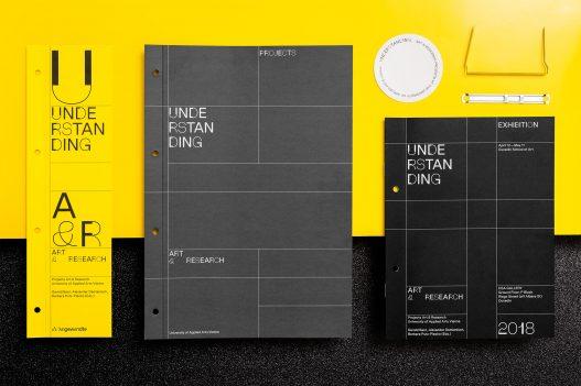Understanding Art & Research Neuseeland Editorial Design Übersicht