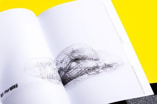 Understanding Art & Research Neuseeland Schwarz Weiß Skizze