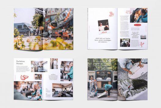 Sunlight Kunden on the Road Fotostrecke im Kundenmagazin