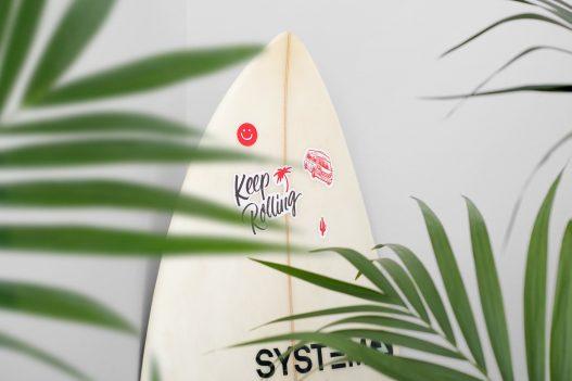Keep Rollin Surfboard