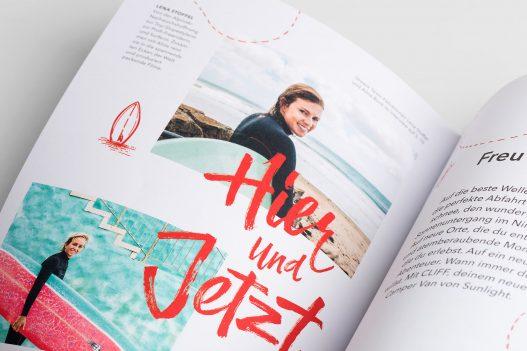 Detailansicht aus Sunlight Kundenmagazin