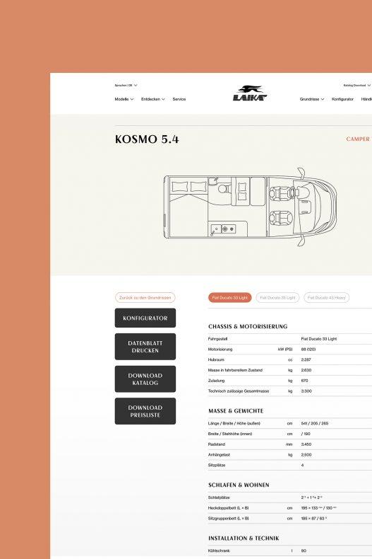 Laika Website Grundriss Detail