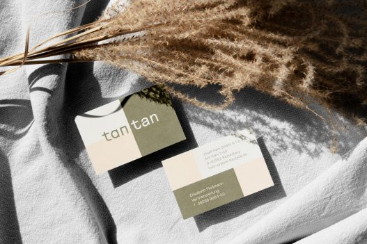 tantan business card